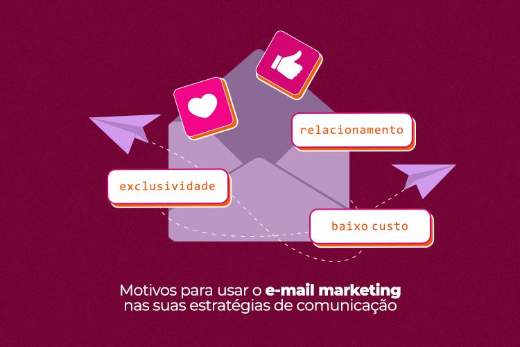Motivos para usar o E-mail Marketing nas suas estratégias de comunicação